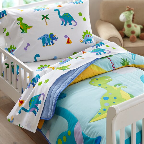 Olive Kids Dinosaur Land Toddler Sheet Set Amp Reviews