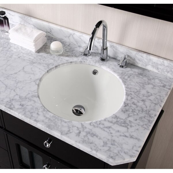 American Imaginations American Imaginations Circular Undermount Bathroom  Sink | Wayfair.ca