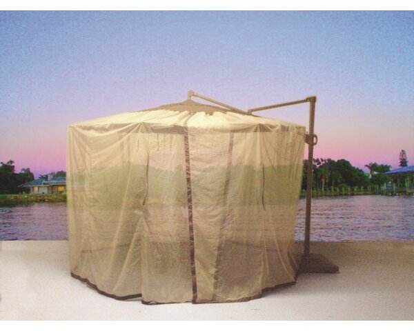 Shade Trend Cantilever Mosquito Umbrella Netting Amp Reviews