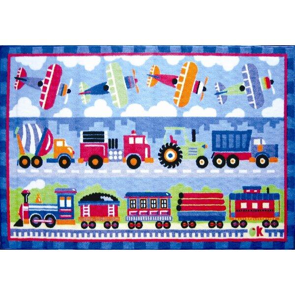 Kids' Cars, Trucks & Trains Rugs You'll Love