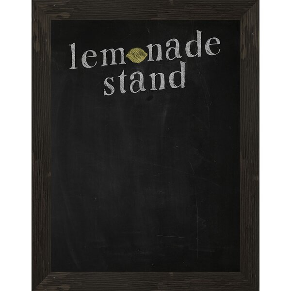 ptm images lemonade stand framed chalkboard wayfair