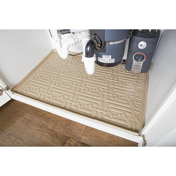 Kitchen Cabinet Mats: Xtreme Mats Under Sink Kitchen Drip Tray & Reviews