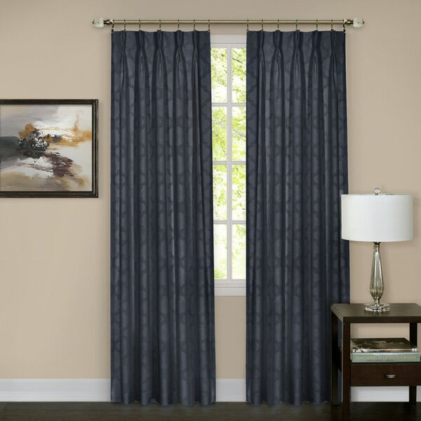 Achim Importing Co Windsor Pinch Pleat Blackout Curtain Panel ...