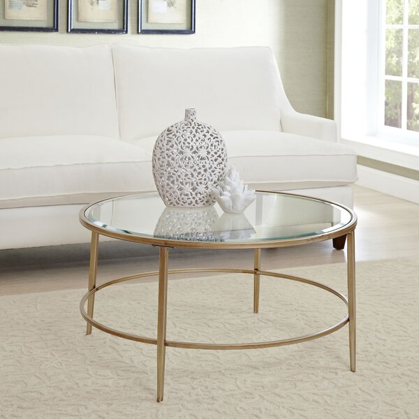 QUICK VIEW. Estelle Coffee Table - Round Coffee Tables Joss & Main