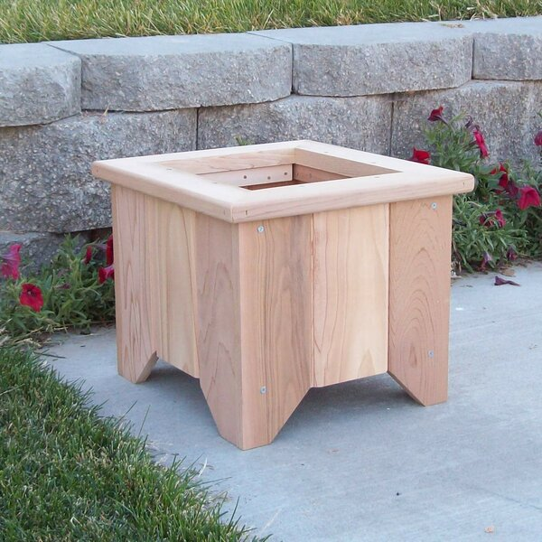 Woodcountry cedar planter box reviews wayfair for Wayfair garden box