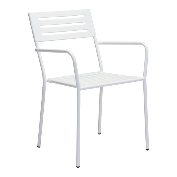 Varick gallery gympie stacking dining arm chair wayfair for Beds r us gympie