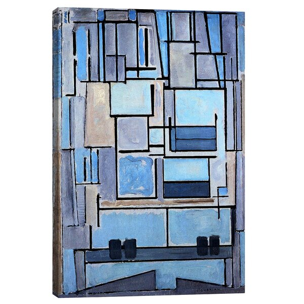 Composition No 9 1914 By Piet Mondrian Print Amp Reviews