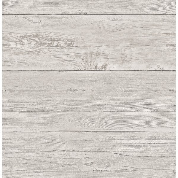 Brewster Home Fashions White Washed Boards Ship Lap 2 X