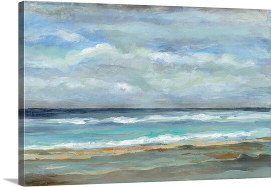 Great Big Canvas Seashore By Silvia Vassileva Painting