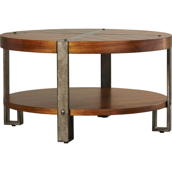 Gallatin Round Coffee Table - Round Coffee Tables You'll Love Wayfair
