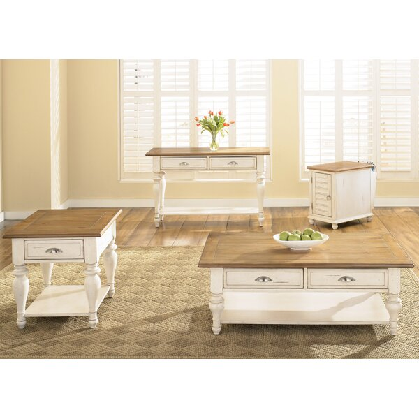 White Coffee Table Sets You'll Love