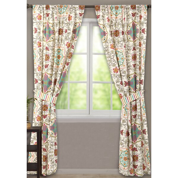 Greenland Home Fashions Esprit Window Curtain Panels & Reviews ...