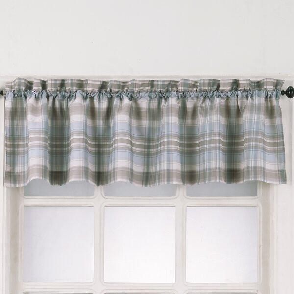 Check & Plaid Valances & Kitchen Curtains You'll Love | Wayfair