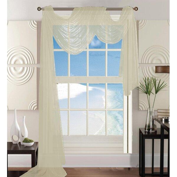 Window Scarf Curtains & Drapes You'll Love | Wayfair
