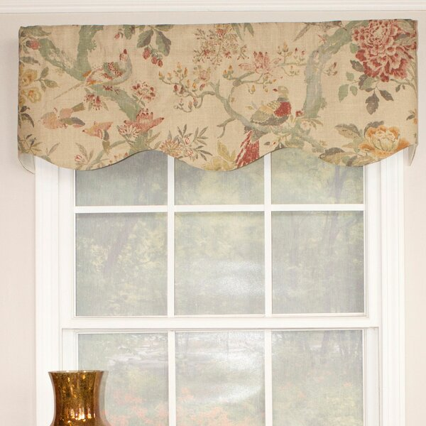 Window valances caf kitchen curtains you 39 ll love wayfair for Professional window treatment patterns