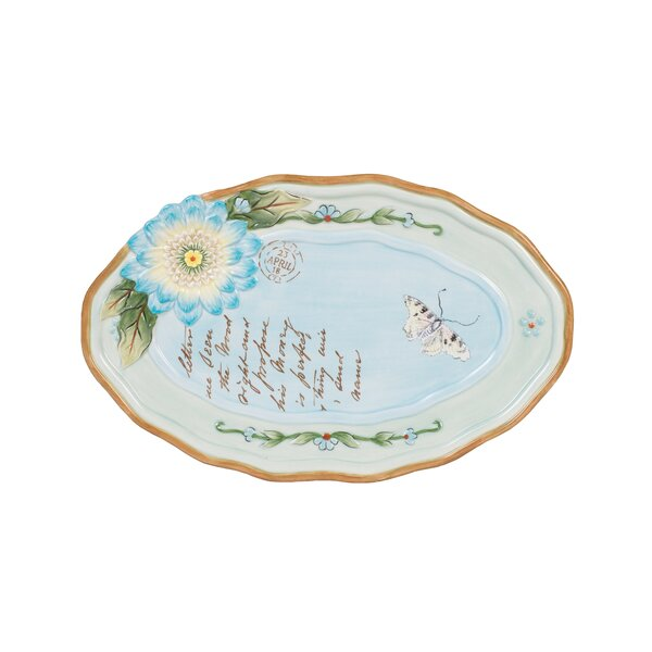 Fitz and floyd toulouse appetizer plate reviews wayfair for Chaise longue toulouse