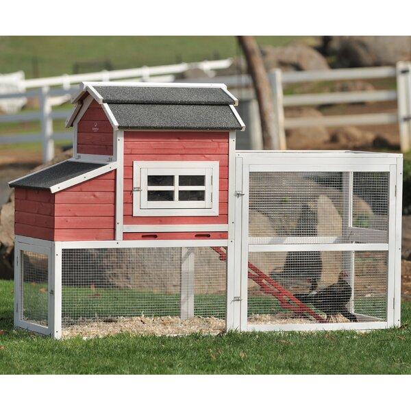 SummerHawk Ranch Vintage Barn Chicken Coop & Reviews