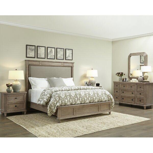 DREAM - KING SIZE MODERN DESIGN BEDROOM SET WALNUT 5 pc ...