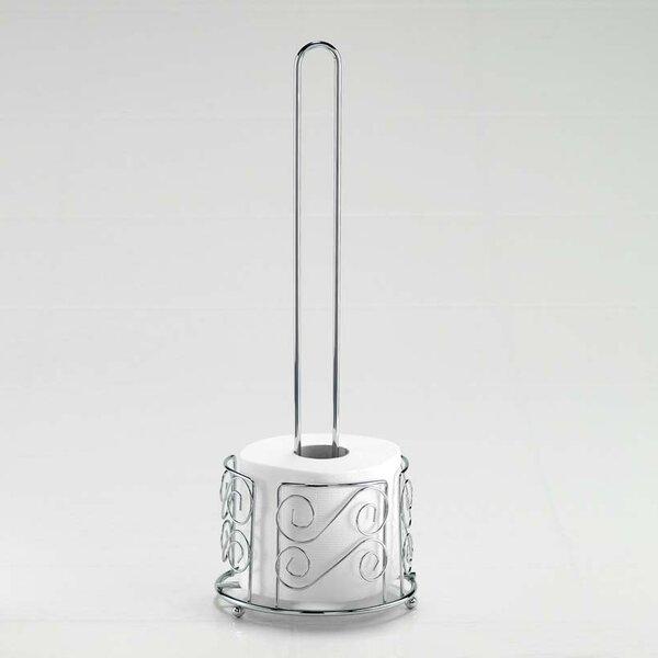 Wildon Home Freestanding Wire Swirl Toilet Paper Holder