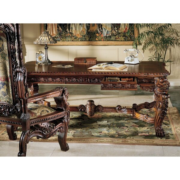 - Design Toscano The Lord Raffles Lion Console Table Wayfair