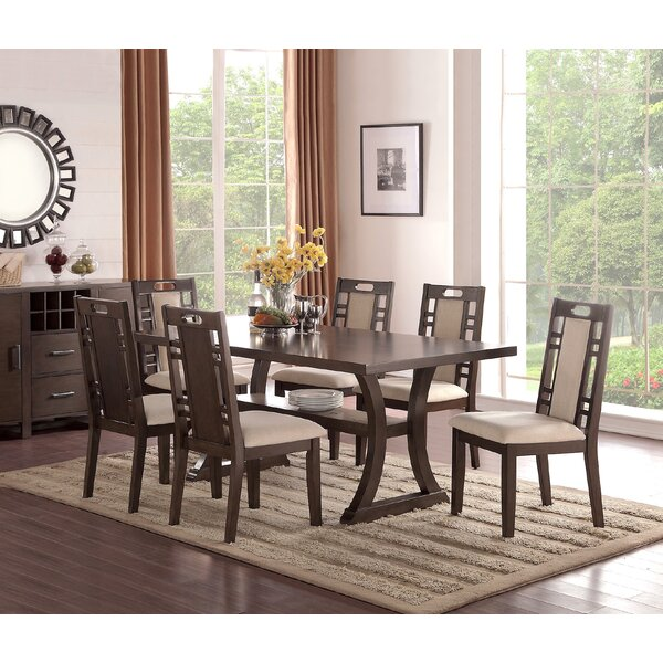 winston porter nila 7 piece dining set reviews wayfair