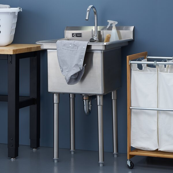 laundry utility sinks youll love wayfair