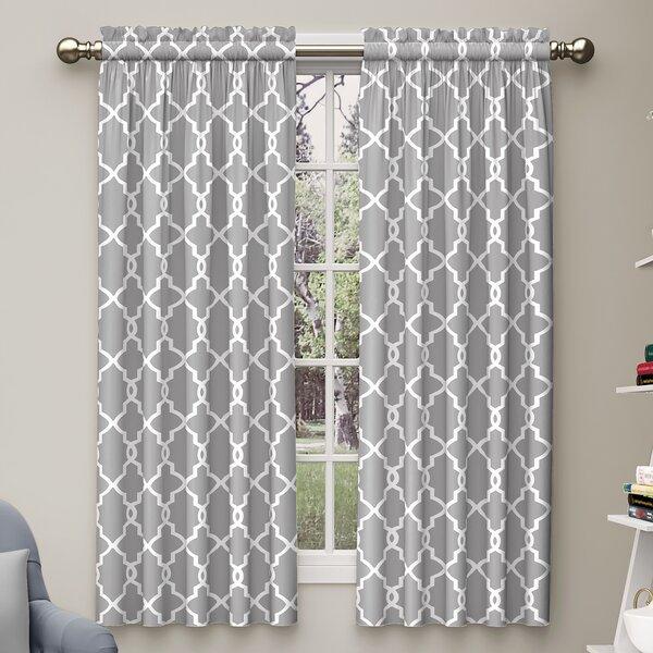 Geometric Curtains & Drapes You'll Love | Wayfair