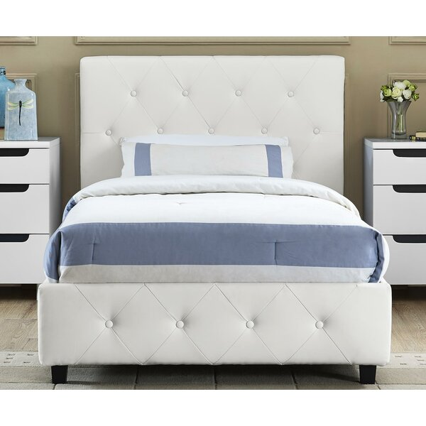 Andover Mills Salina Upholstered Platform Bed Amp Reviews