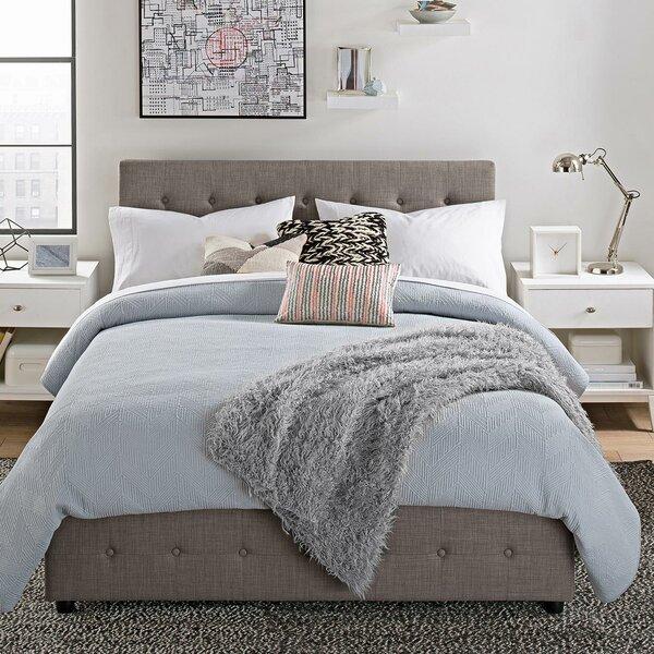 Brayden Studio Morphis Upholstered Storage Platform Bed