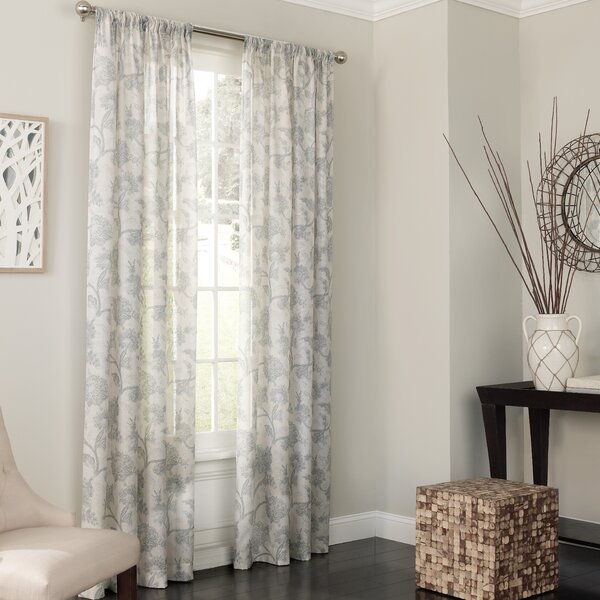 Floral Curtains & Drapes You'll Love | Wayfair