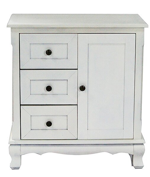 Heather Ann 3 Drawer And 1 Door Accent Cabinet Amp Reviews