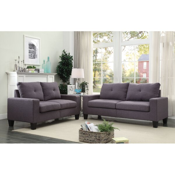 Platinum Ii Sofa And Loveseat Set By Acme Furniture