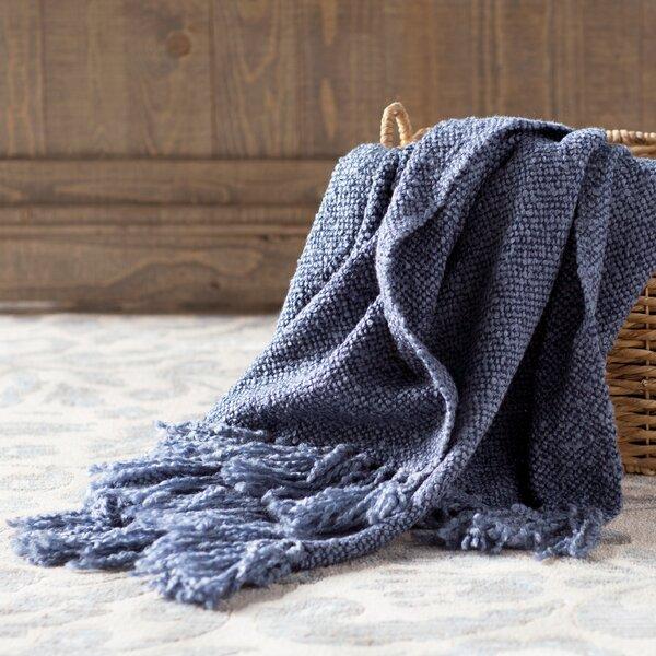 August Grove Nova Woven Throw Blanket Amp Reviews Wayfair Ca