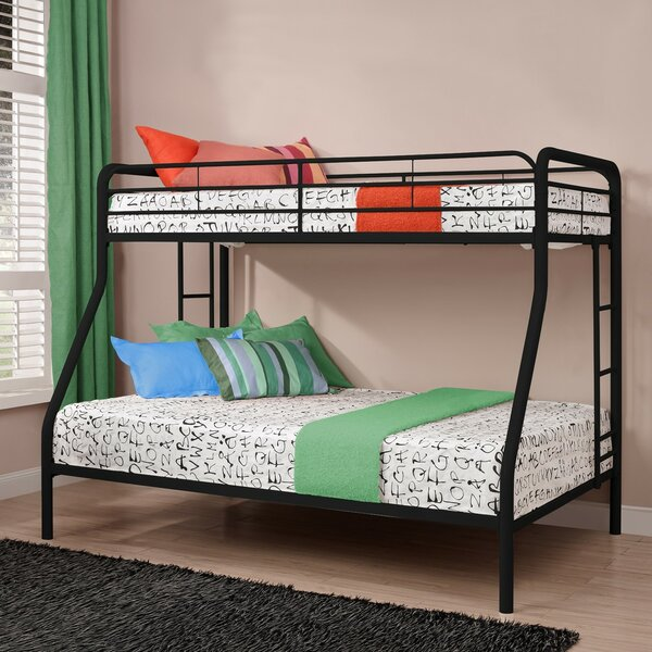 metal bunk loft beds youll love wayfair