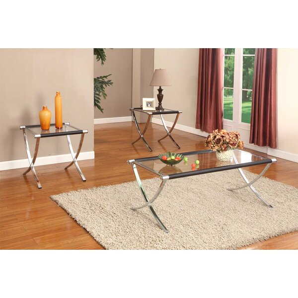 Glass Coffee Table Sets Youll LoveWayfair