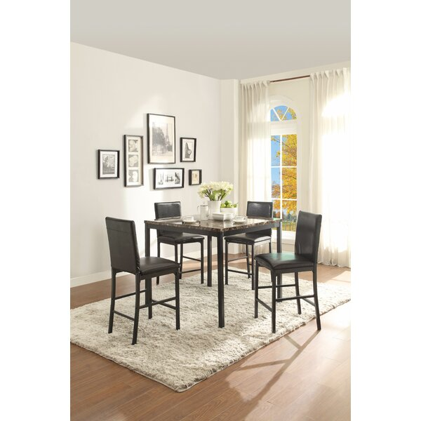 counter height modern contemporary kitchen dining tables youll love wayfair - Kitchen Table Counter