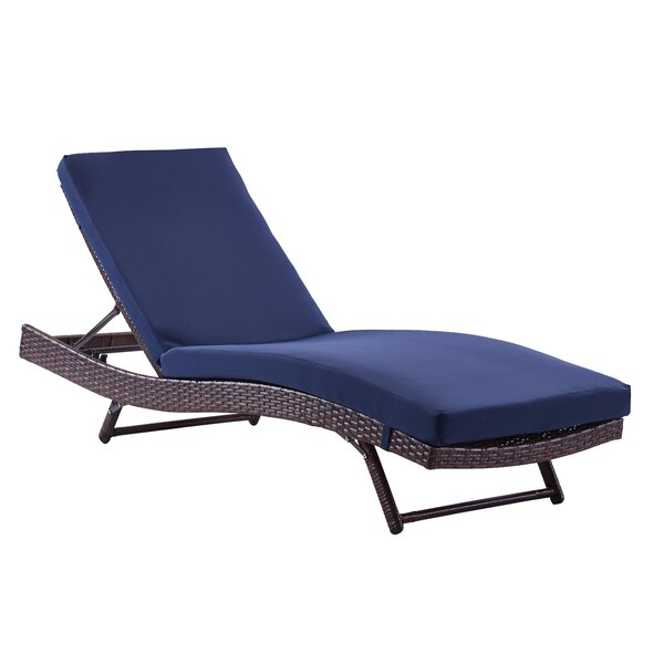 Rebecca Patio Lounger With Cushion - Contemporary Patio Lounge Chairs. Exciting Garden Patio Furniture