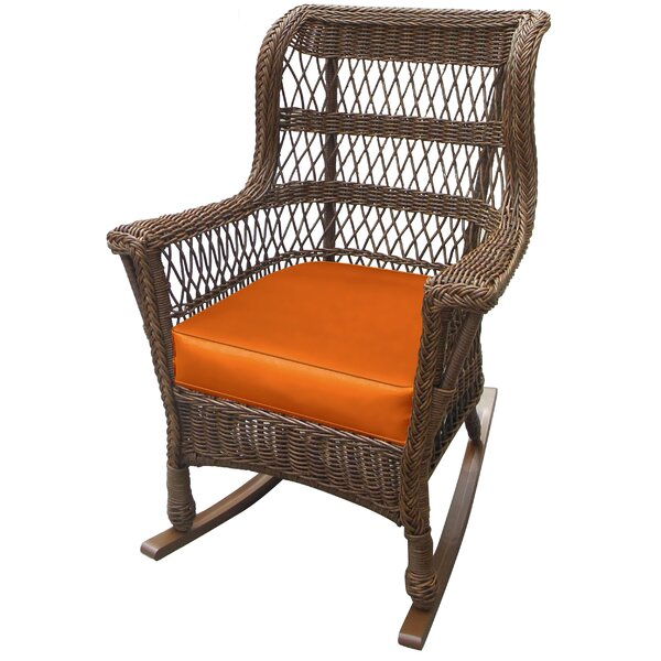 forever patio madison high back rocking chair with cushion. Black Bedroom Furniture Sets. Home Design Ideas