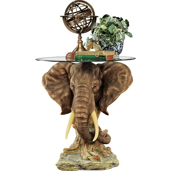 Design Toscano Lord Earl Houghton's Trophy Elephant Coffee Table & Reviews    Wayfair - Design Toscano Lord Earl Houghton's Trophy Elephant Coffee Table