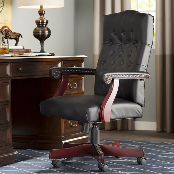 Wood Office Chairs Youll Love  Wayfair