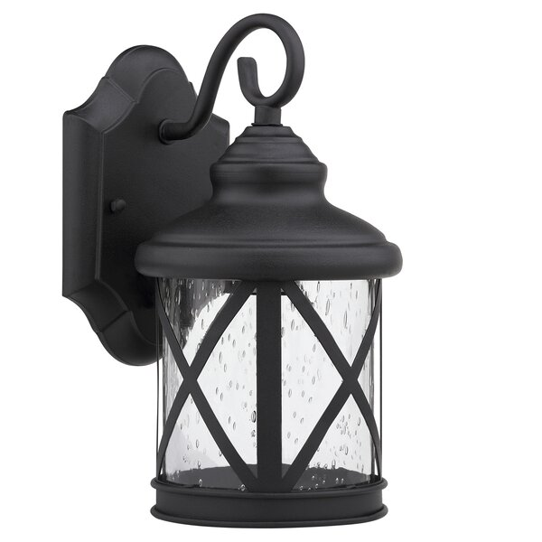 Wayfair Lights: Alcott Hill Morley 1-Light Outdoor Wall Lantern & Reviews