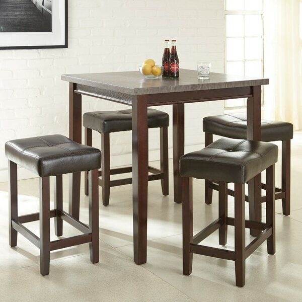 counter height dining sets youll love wayfair - Kitchen Table Counter