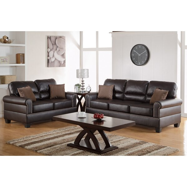 - Leather Living Room Sets You'll Love Wayfair