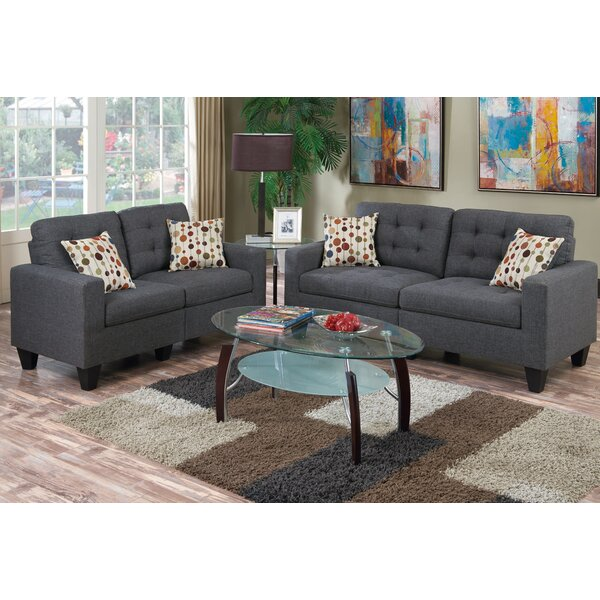 Living room sets you 39 ll love wayfair for 7 piece living room set with tv