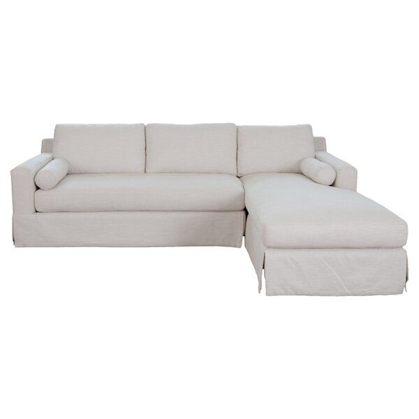 Halle sectional reviews allmodern for Chaise longue halle