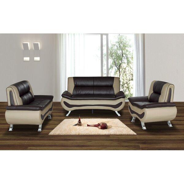 Wade logan berkeley heights 3 piece living room set for Wg r living room sets