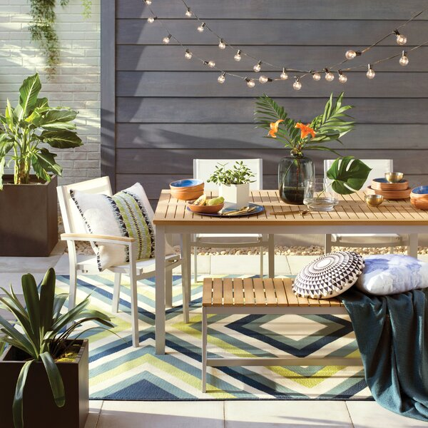 Mercury Row Outdoor Dining Chairs