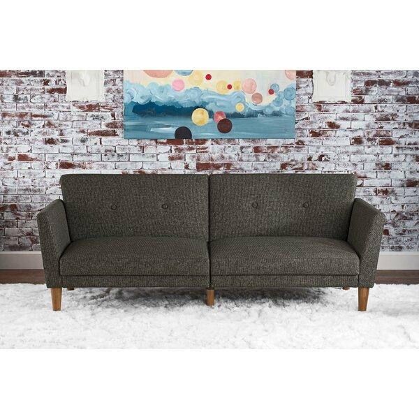 novogratz regal convertible sofa reviews wayfair. Black Bedroom Furniture Sets. Home Design Ideas