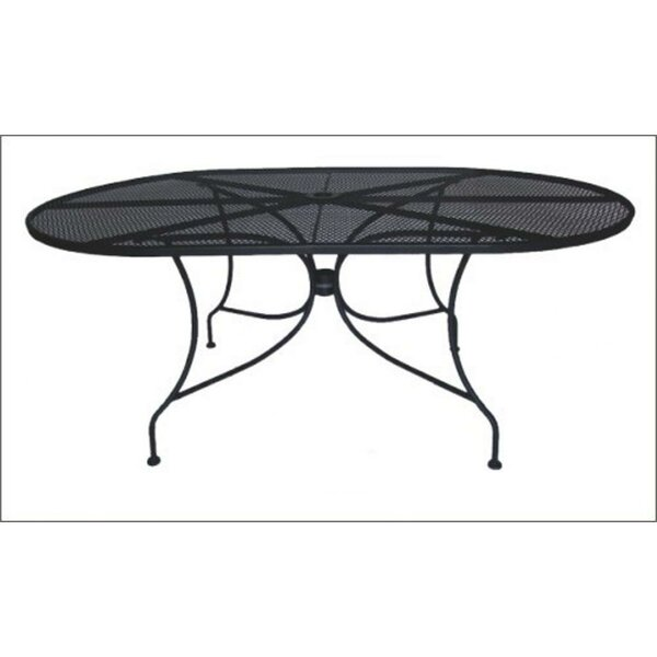 oval outdoor coffee table