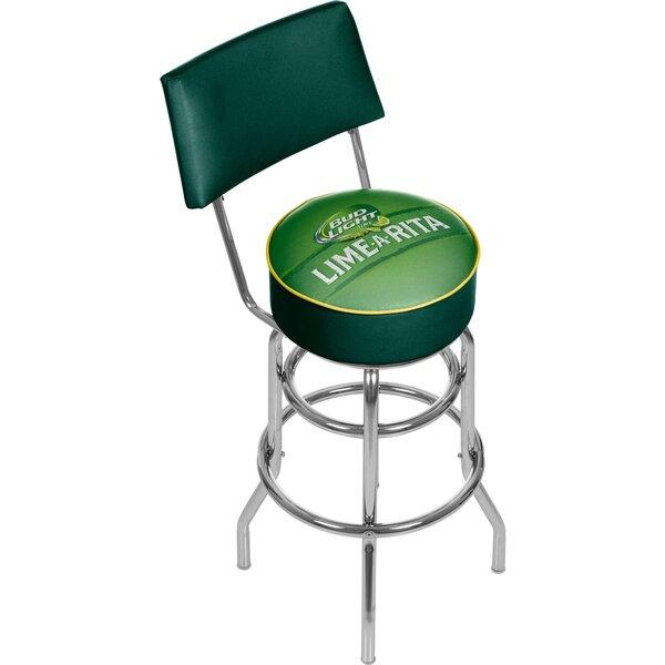global bud light lime a rita 31 swivel bar stool. Black Bedroom Furniture Sets. Home Design Ideas